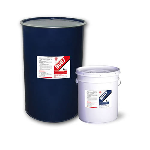 High strength 9667 Polyurethane Adhesive Glue, low permeability industrial silicone sealant